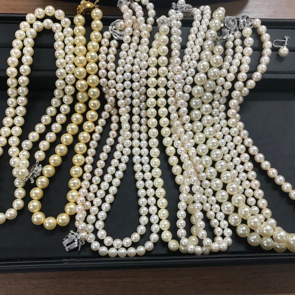 真珠ネックレス まとめ