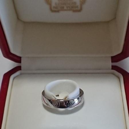 Cartier カルティエ ハッピーバースデーリング K18WG