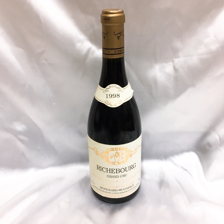 モンジャール ミュニュレ リシュブール 1998年  ワイン