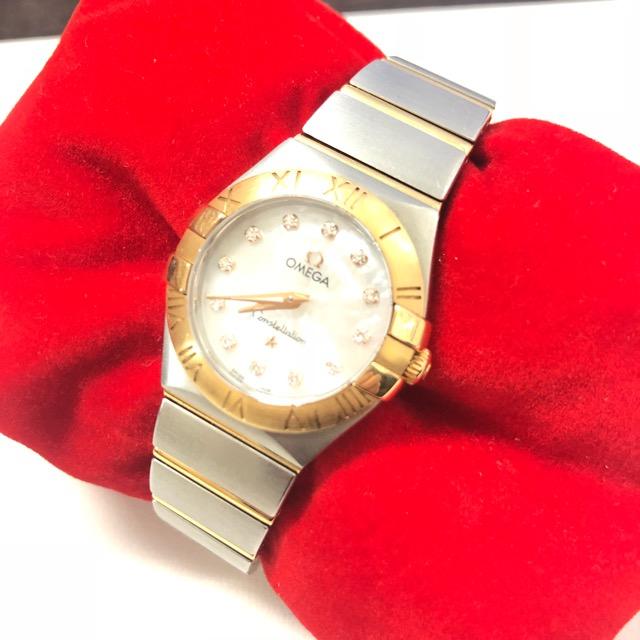 オメガコンステレーション腕時計