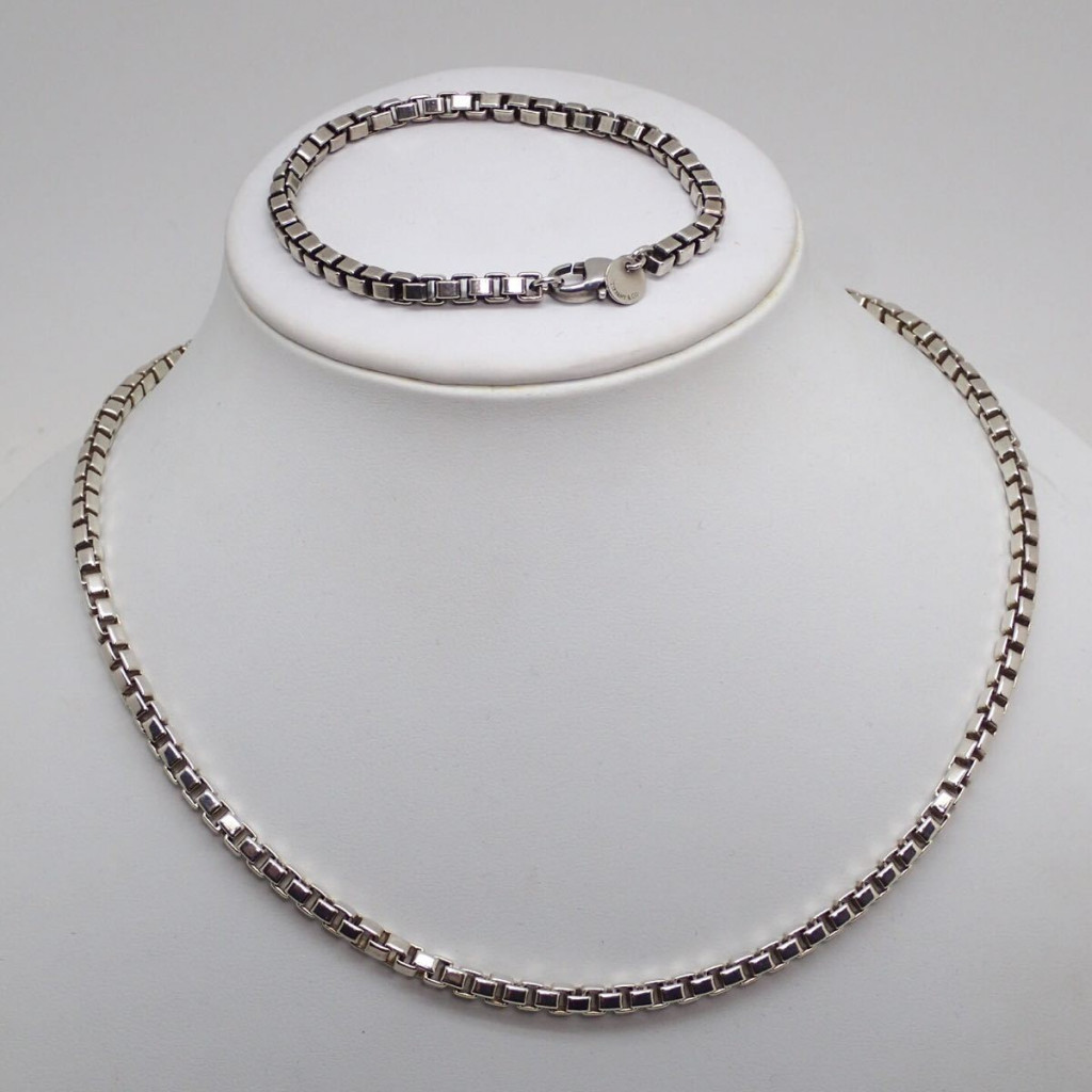 Tiffany&Co.ベネチアンネックレス&ブレスレット