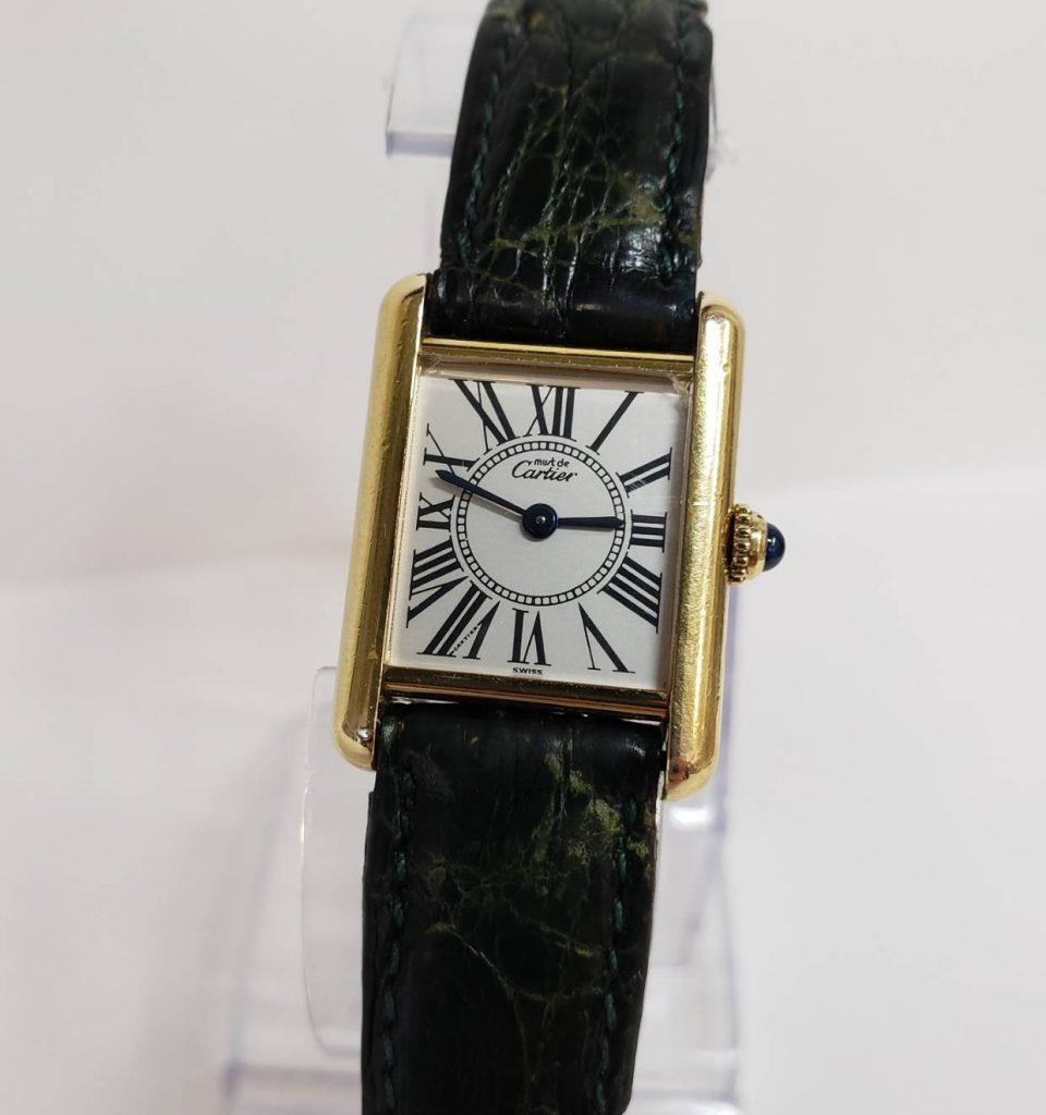 Cartier カルティエ マストタンク 5057001 レディース腕時計