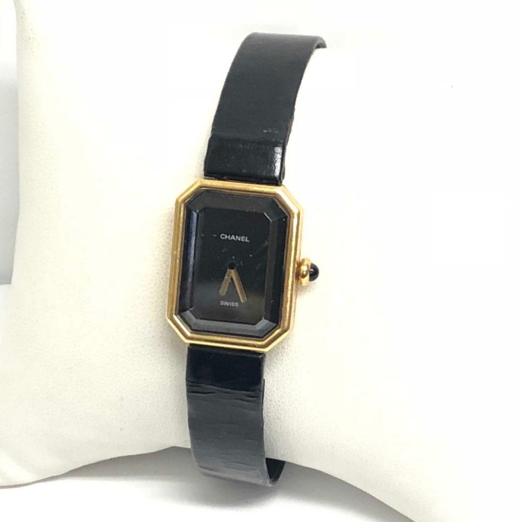 CHANELプルミエールK18腕時計