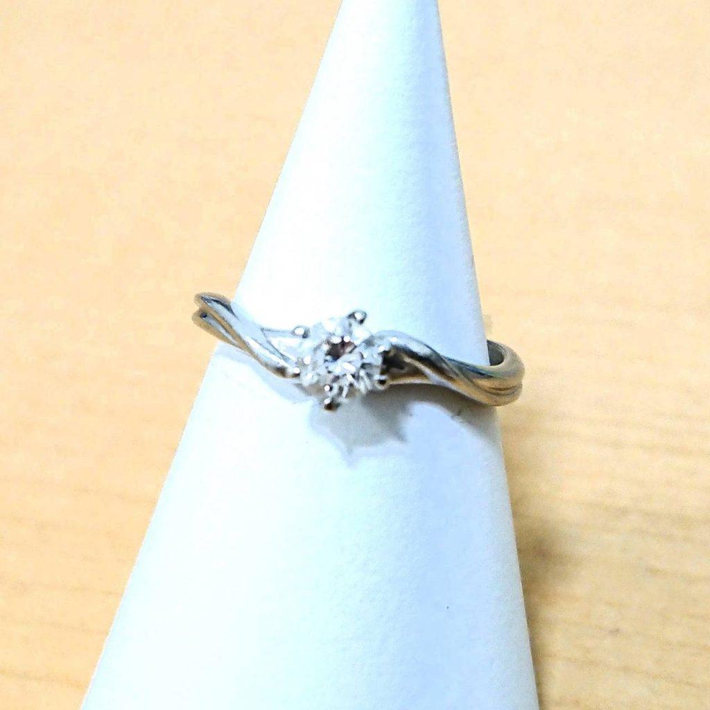 Pt900 0.3カラット ダイヤモンド リング