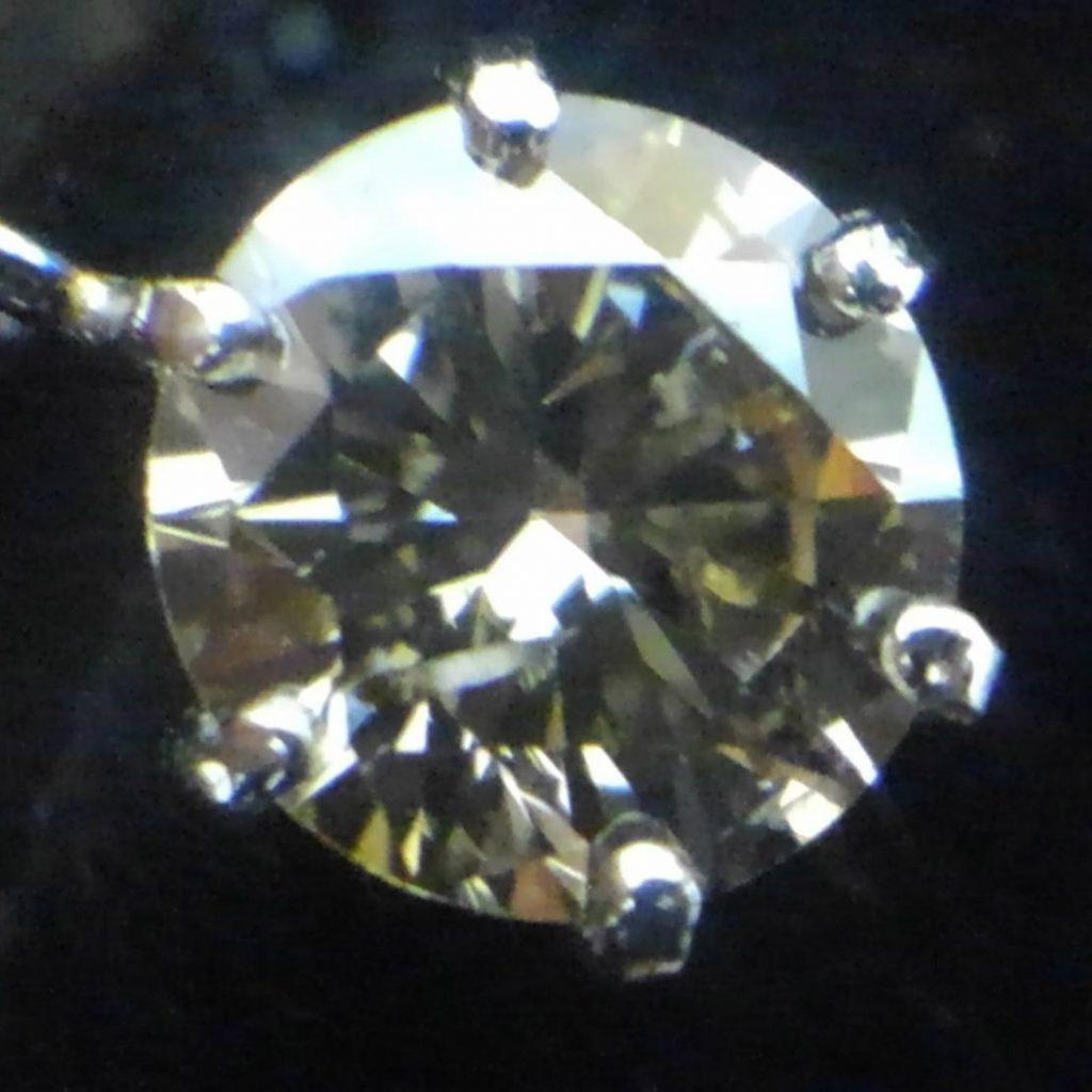 Pt900 0.4ct ダイヤモンドネックレス