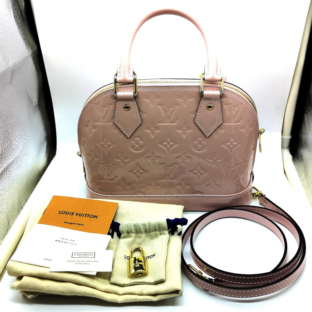 newest collection 708b9 3d8f1 LOUIS VUITTON アルマ ヴェルニ 付属品有 ルイヴィトン ...