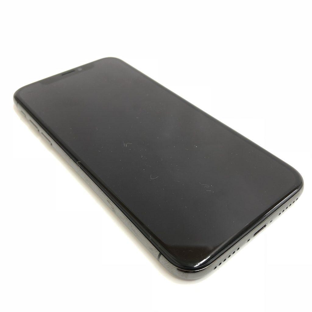 iPhoneX ブラック SoftBank 64GB 水没品