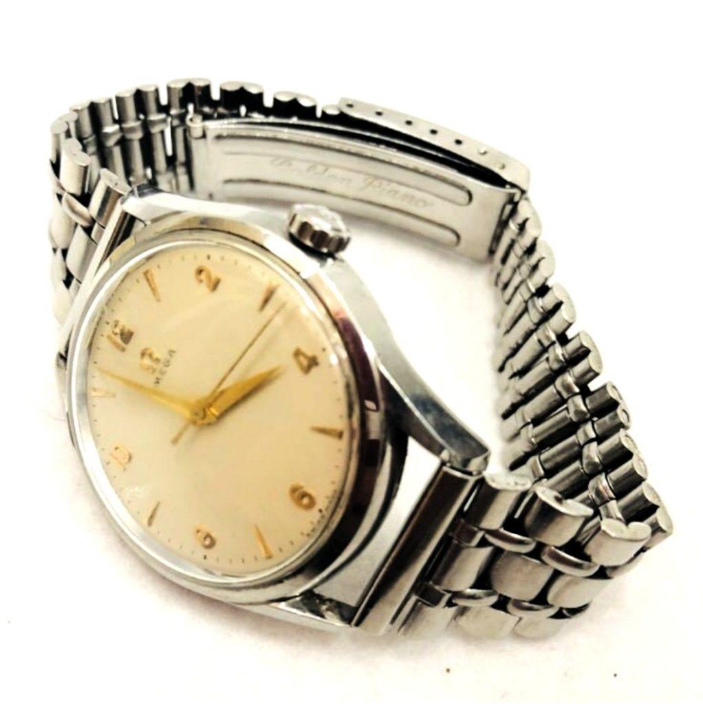 OMEGA WATER PROOF 手巻き 腕時計 オメガ ブランド 時計 ベルト社外品 長野県 長野市