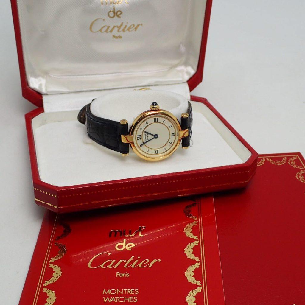 カルティエ マストヴェルメイユ 腕時計