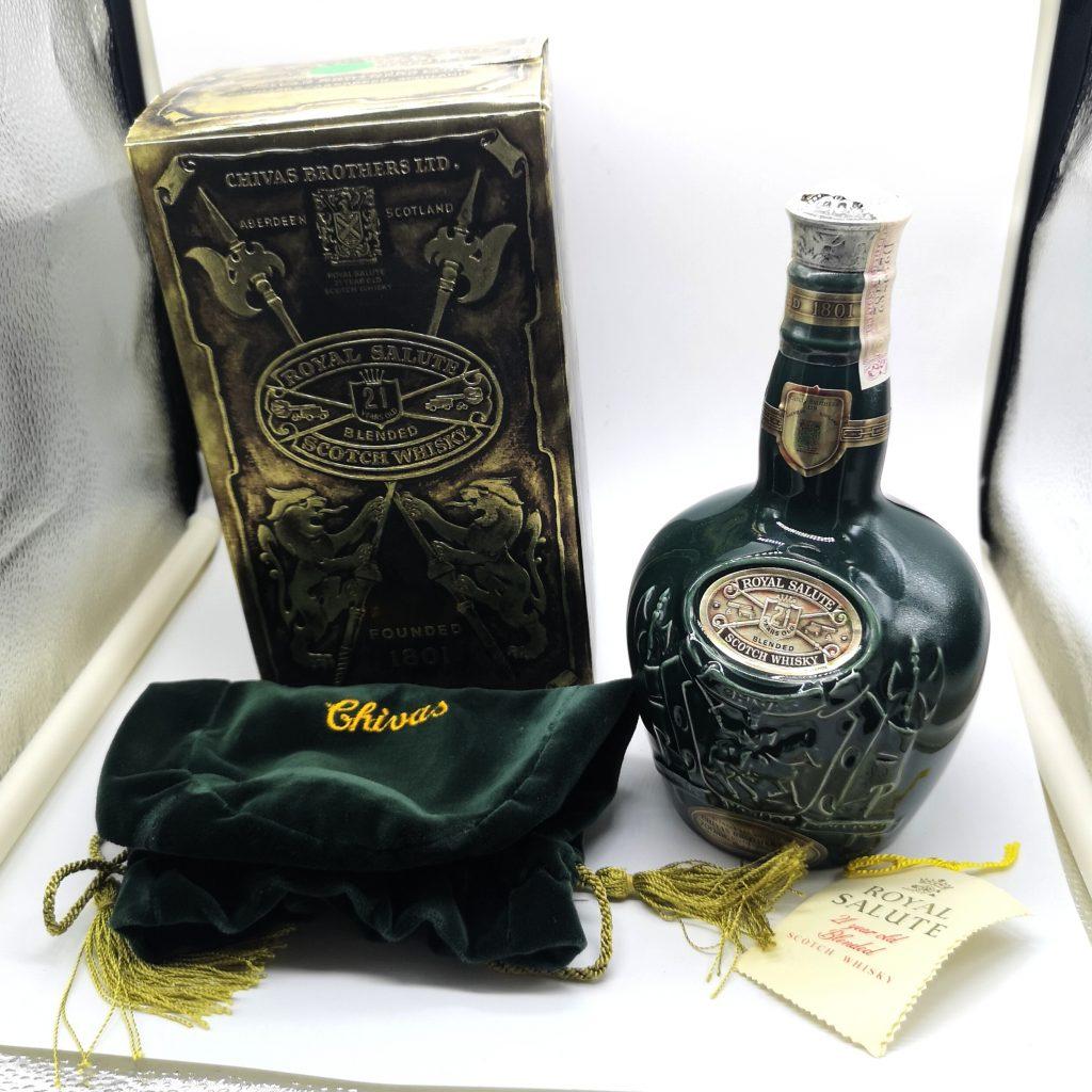 ROYAL SALUTE ロイヤルサルート 21年 緑ボトル 700ml ブレンデッド スコッチ ウイスキー 40度 長野市 ドンキホーテ