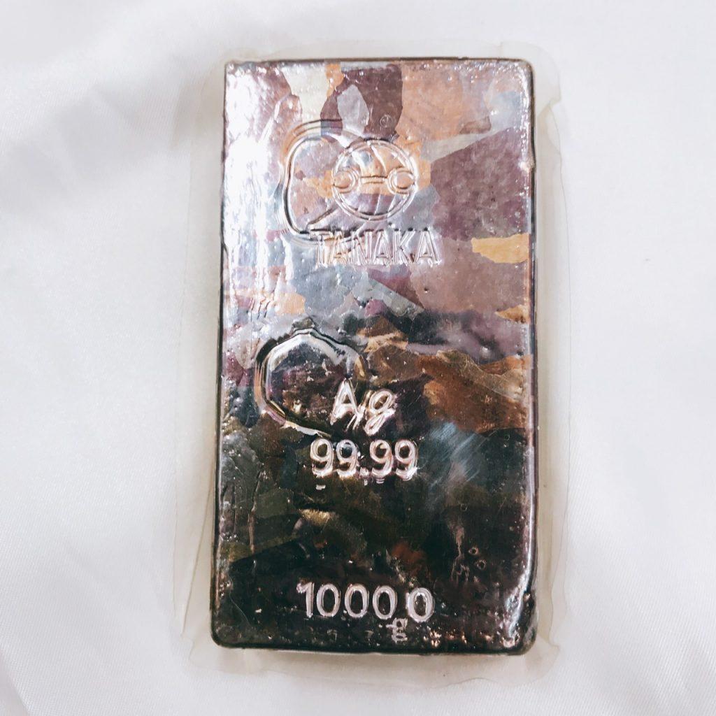 Ag1000 インゴット 1kg