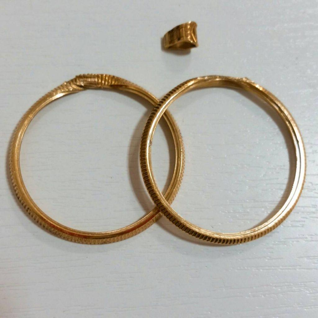 K18 金枠 ジャンク品