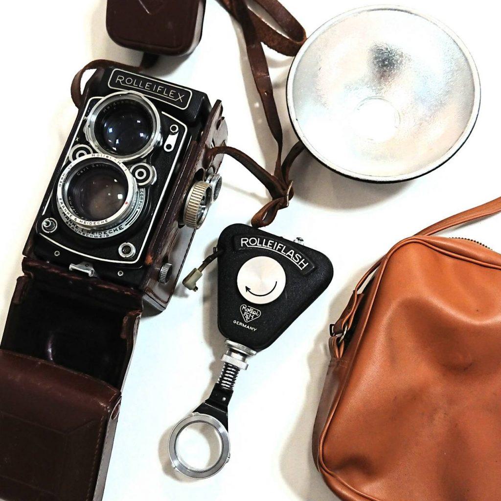 ROLLEIFLEX 二眼レフカメラ