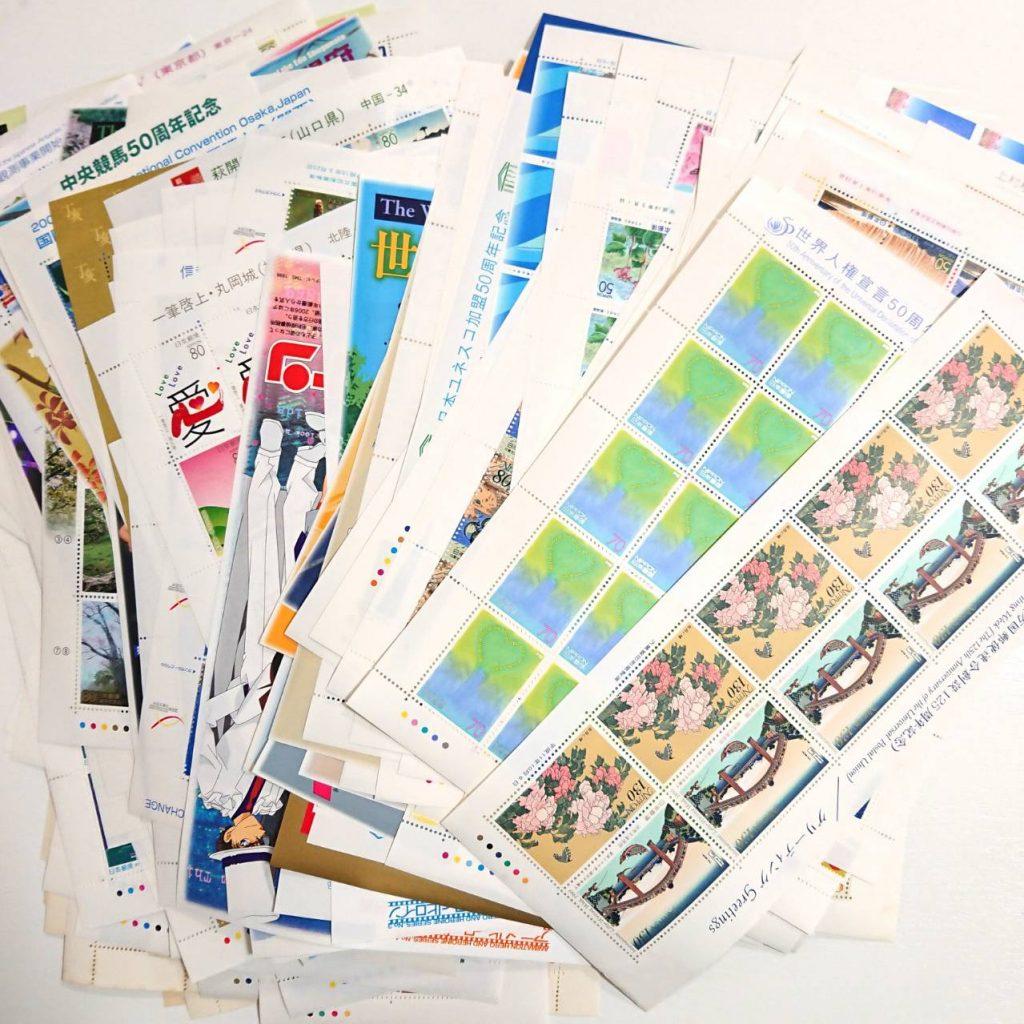 切手シート 大量