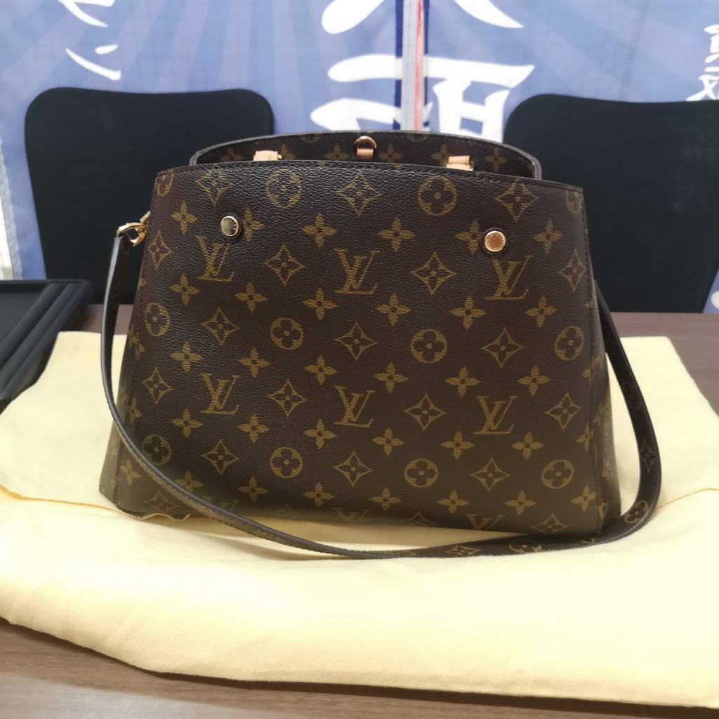 Louis Vuitton ルイヴィトン モンテーニュ モノグラム レディース 付属品有り ハンドバッグ