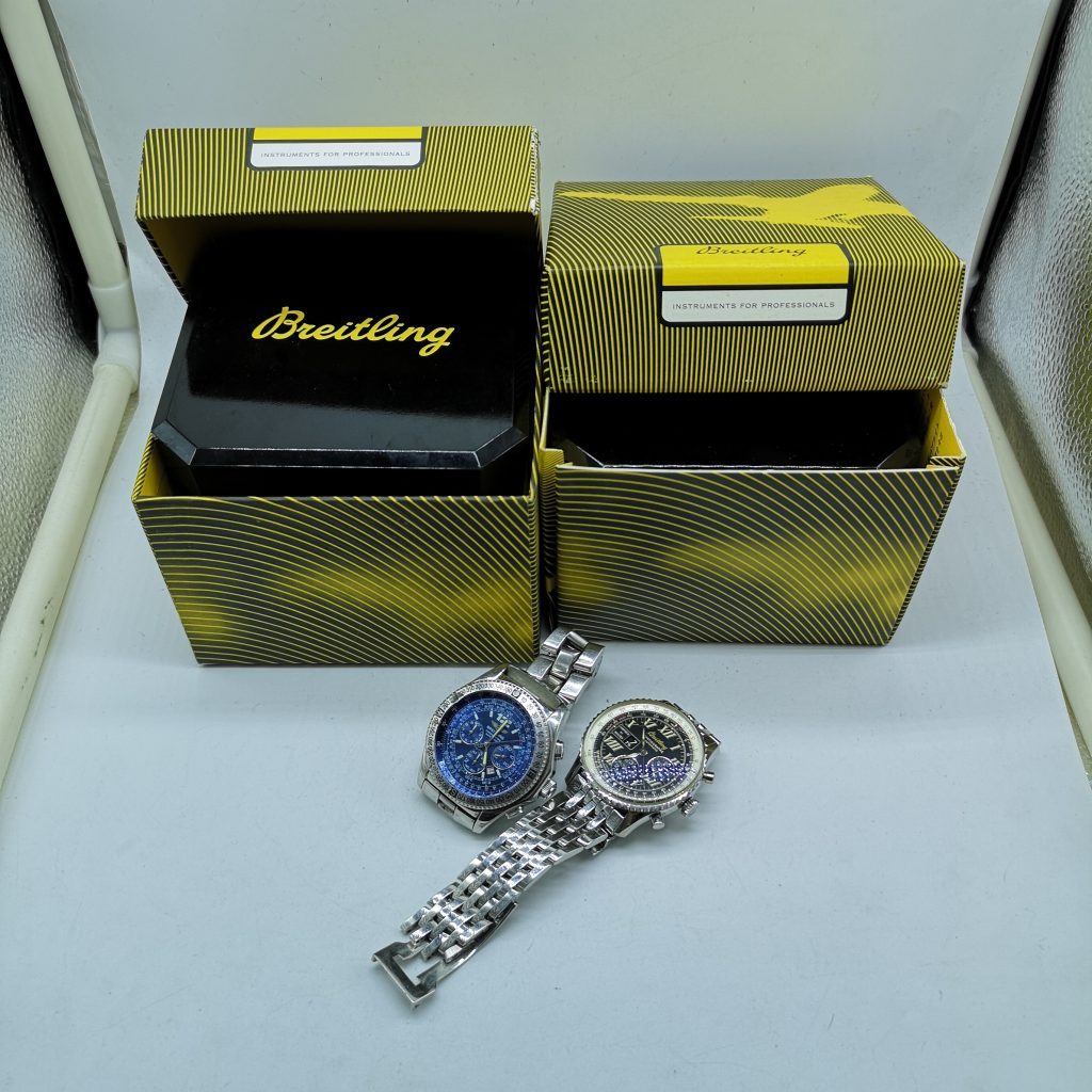 BREITLING ブライトリング 腕時計 不動 ジャンク ギャラ有り 機械式 付属品有りナビタイマー モンブリラン スパシオグラフ プロフェッショナル B-2