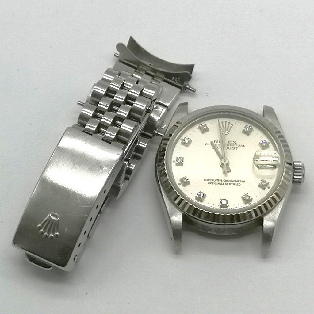 on sale 1f303 ccc41 ROLEXロレックス デイトジャスト 10Pダイヤ 本体の 腕時計 ...