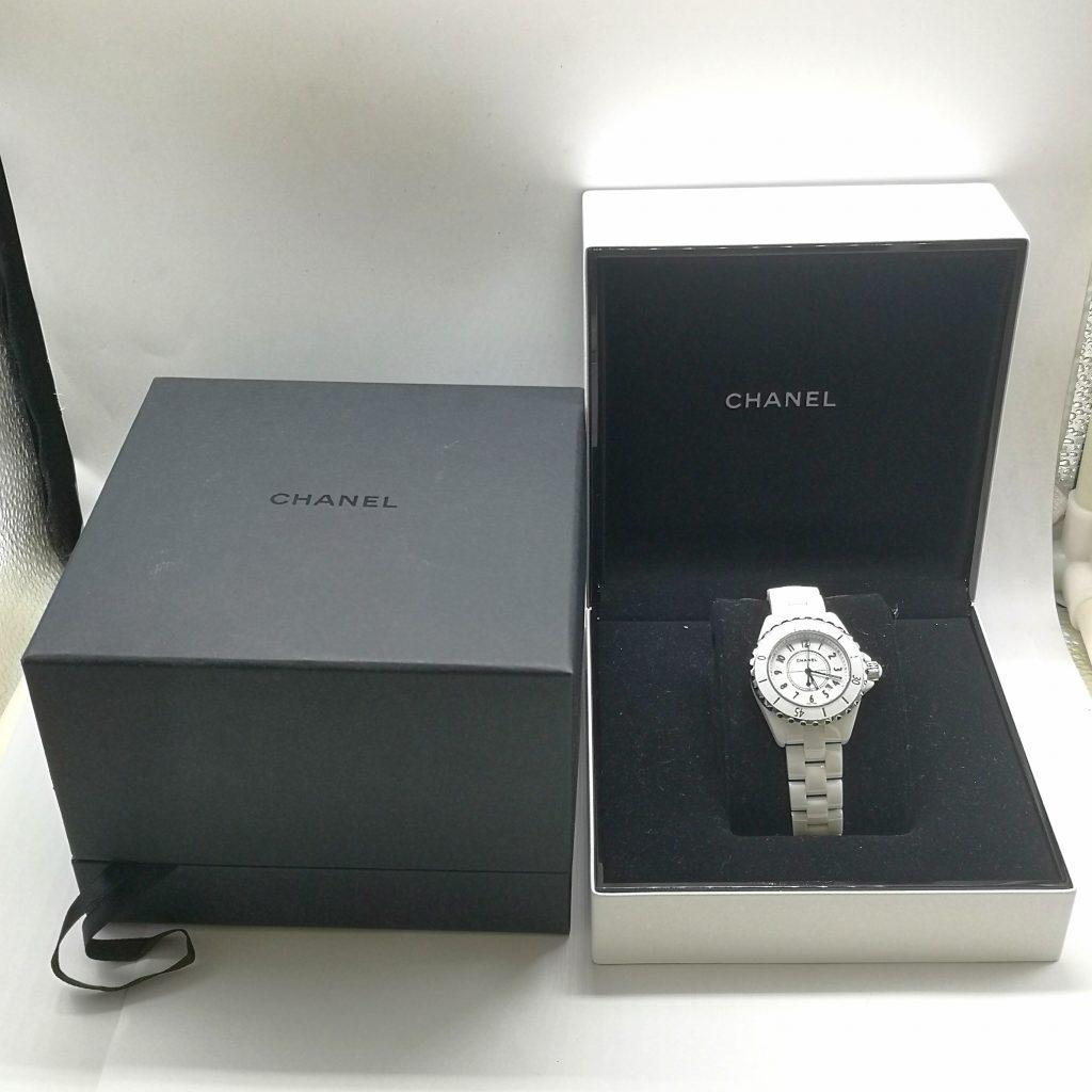 new style 2cb70 1f874 CHANEL J12 ギャラ無し クォーツ腕時計 レディース 女性用 ...