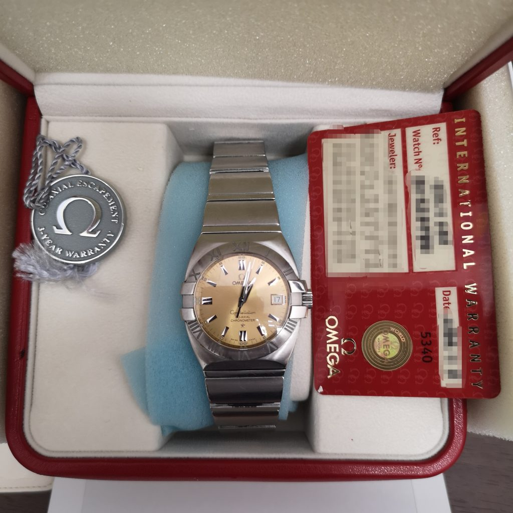 new styles b0349 cccd0 OMEGA オメガ コンステレーション 腕時計 メンズ 機械式 自動 ...