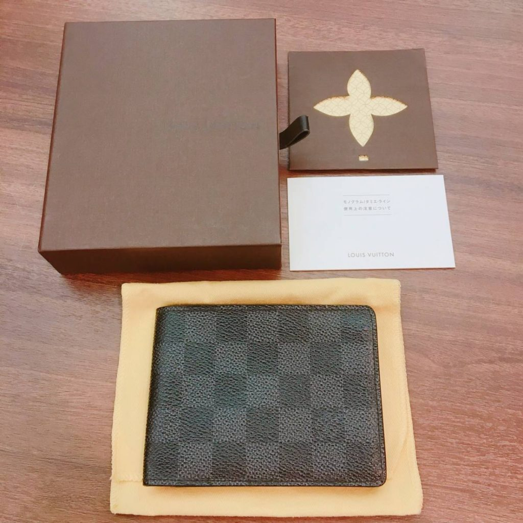 cheaper 04a2a 53170 LOUIS VUITTON ルイヴィトン ダミエ グラフィット 財布 | 宝石 ...