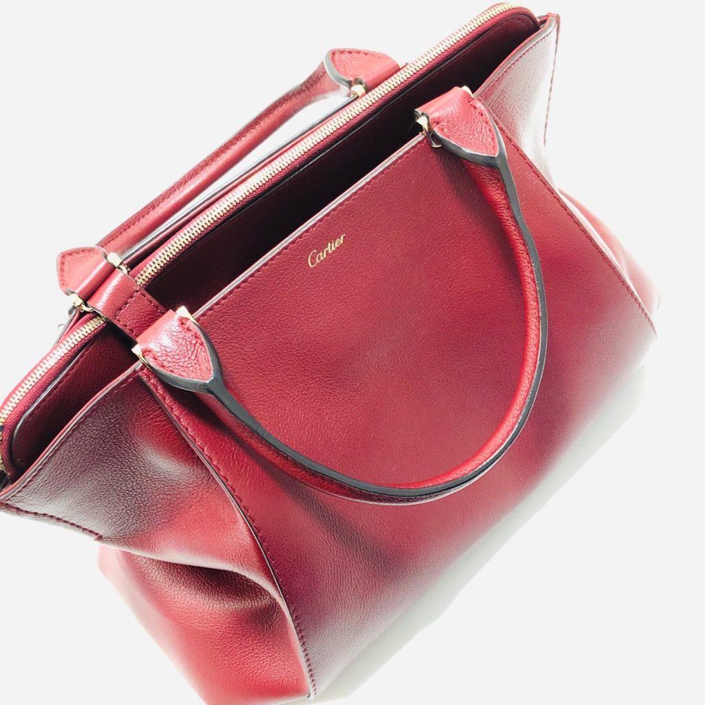 wholesale dealer 2ba3b 58234 Cartier Cドゥ カルティエ 2WAY レディース バッグ | 宝石買取の ...