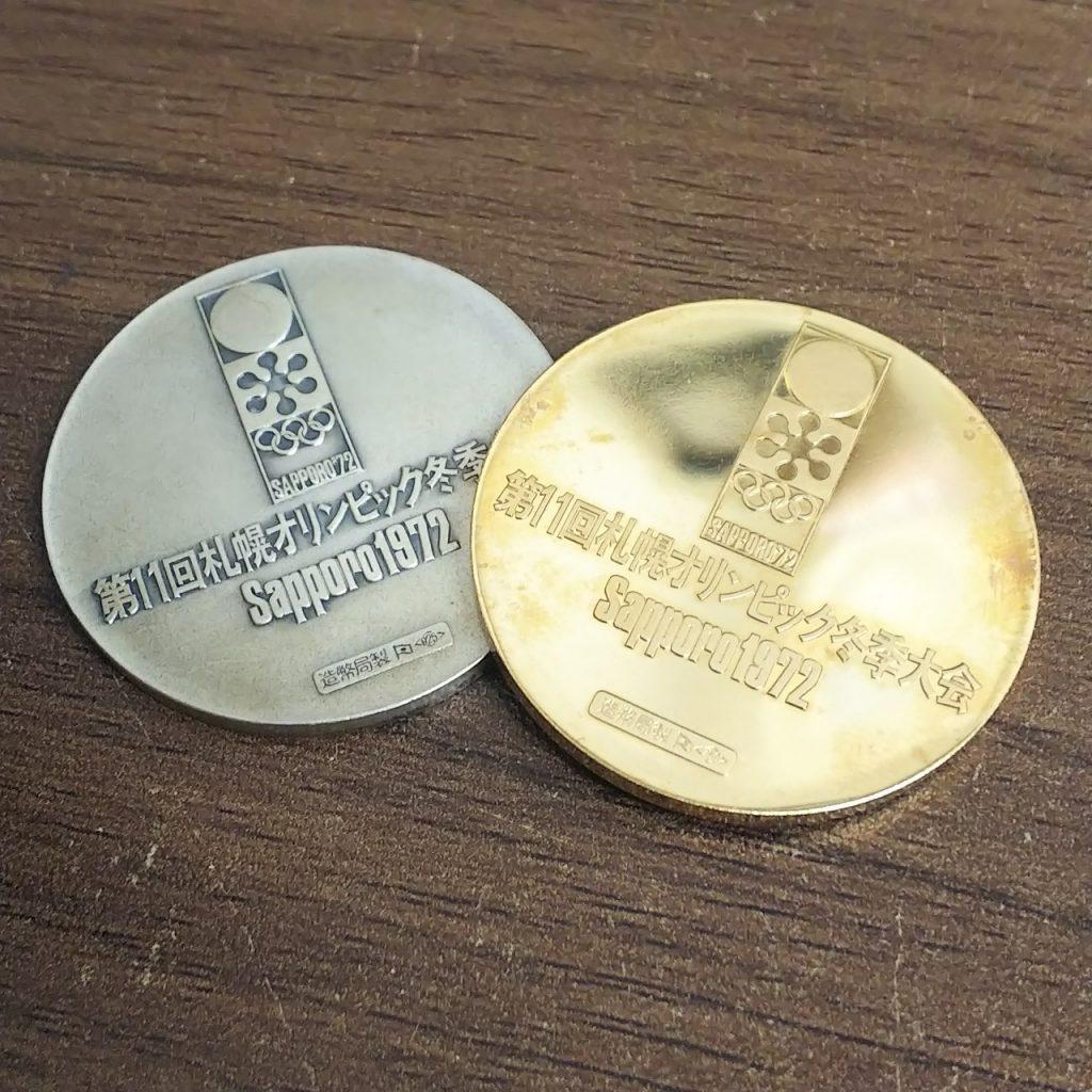 金メダル 銀メダル オリンピック