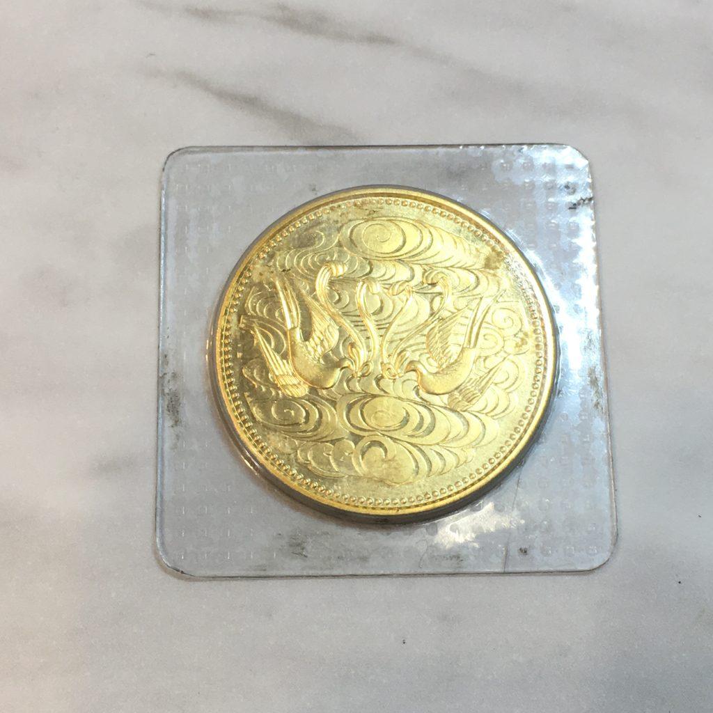 天皇陛下御在位60年10万円金貨