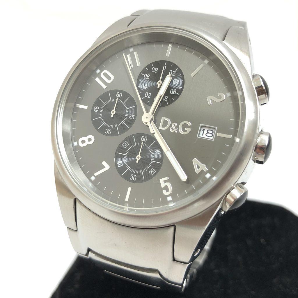 ドルチエ&ガッバーナ クロノグラフ 腕時計