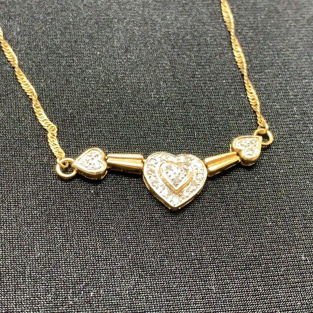K18 メレダイヤ(0.8ct)ネックレス