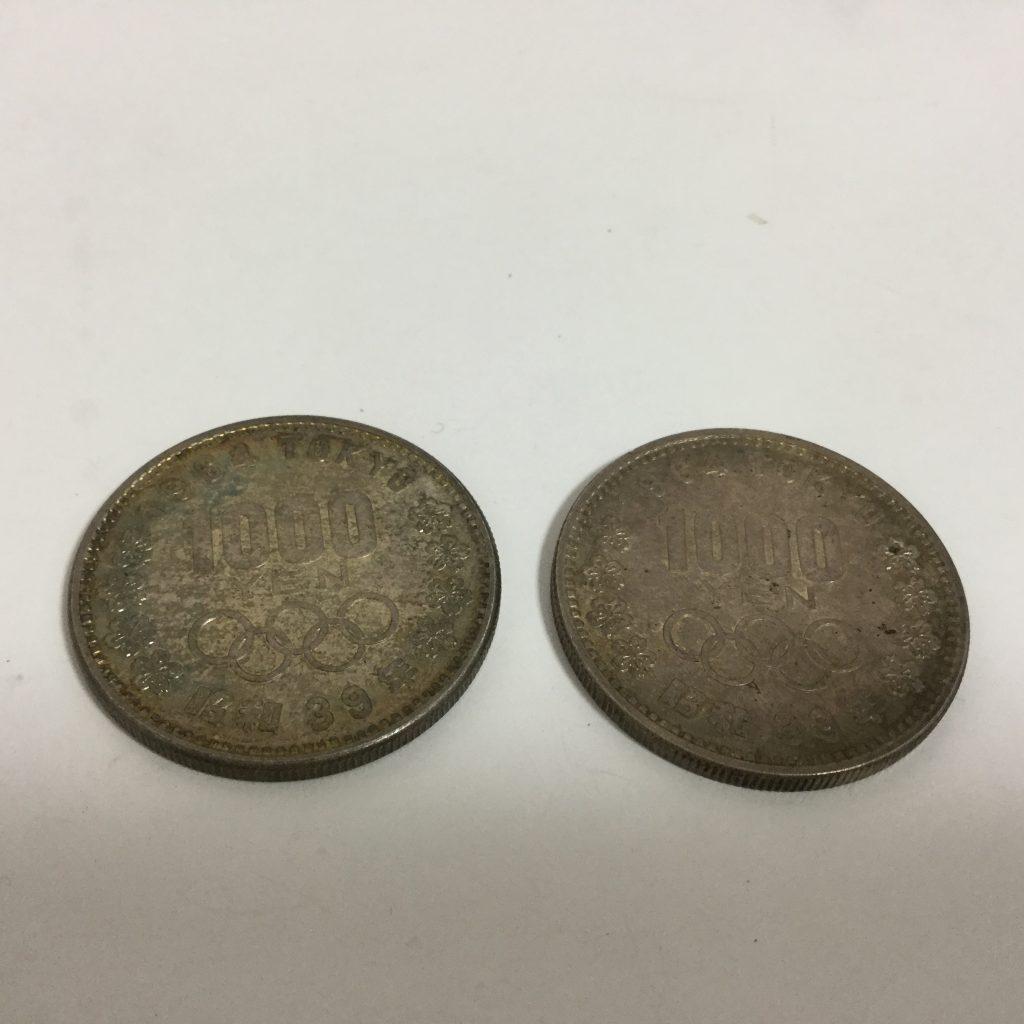 39年 東京オリンピック記念銀貨