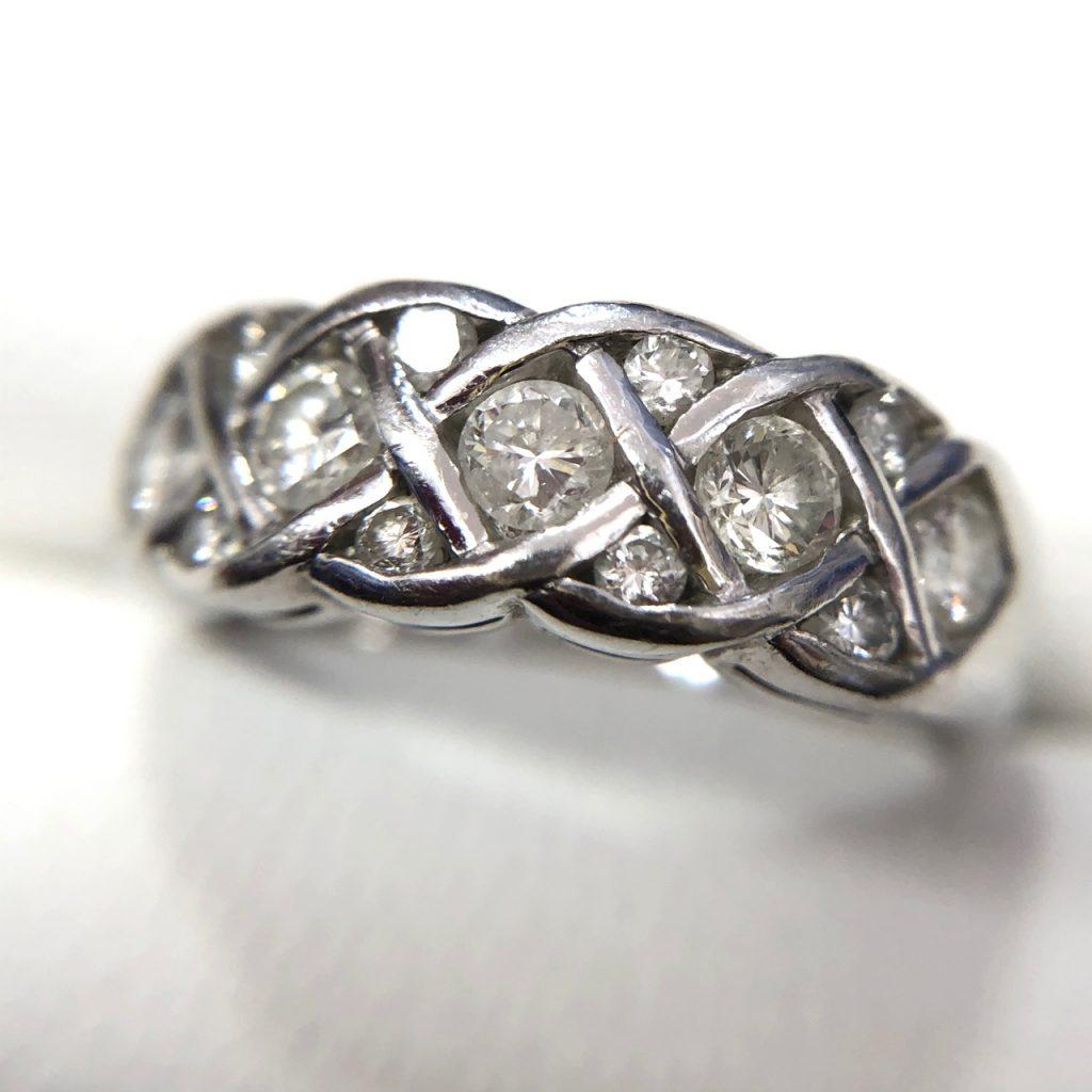 Pt900 0.67ct ダイヤモンドリング さすがやMEGAドン・キホーテ長野店