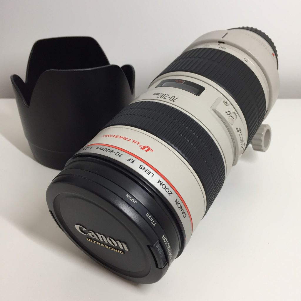 Canon ズームレンズ EF 70-200mm 1:2.8 L