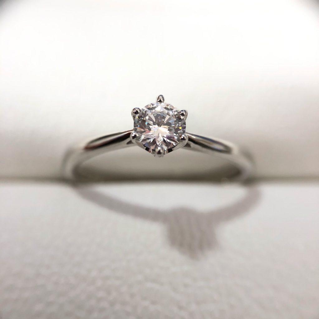 Pt900 0.25ct ダイヤモンドリング さすがやMEGAドン・キホーテ長野店