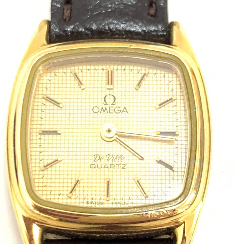 OMEGA デビル クオーツ レディース 腕時計