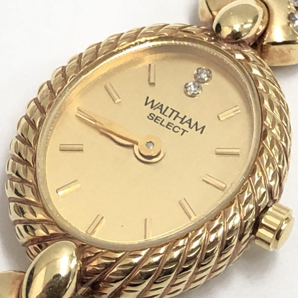 WALTHAM(ウォルサム) 18K使用 レディース腕時計