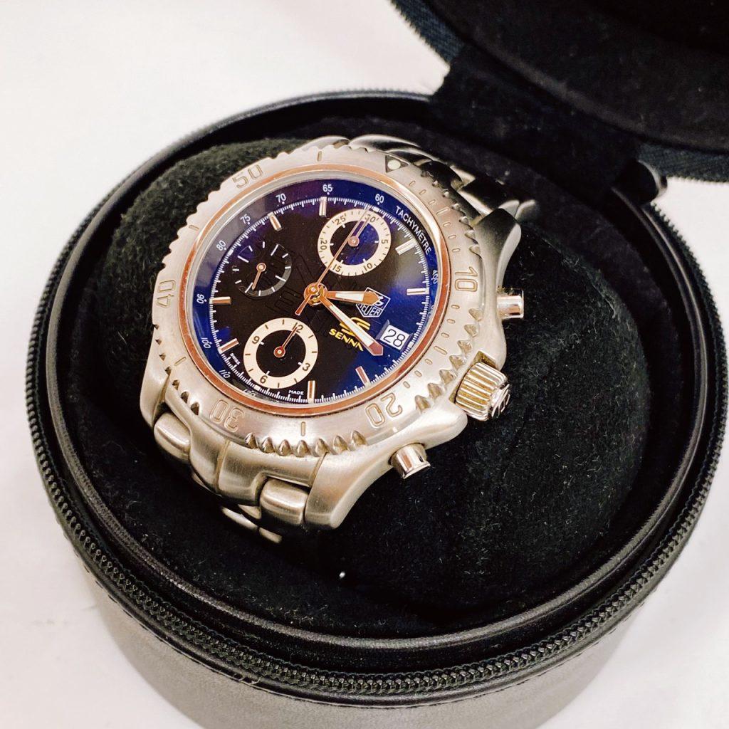 タグホイヤー アイルトンセナ モデル 腕時計