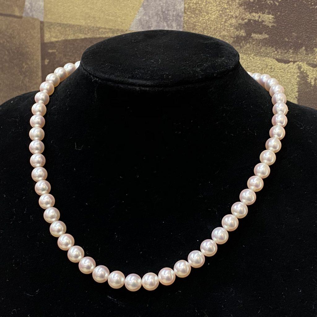 真珠 ネックレス