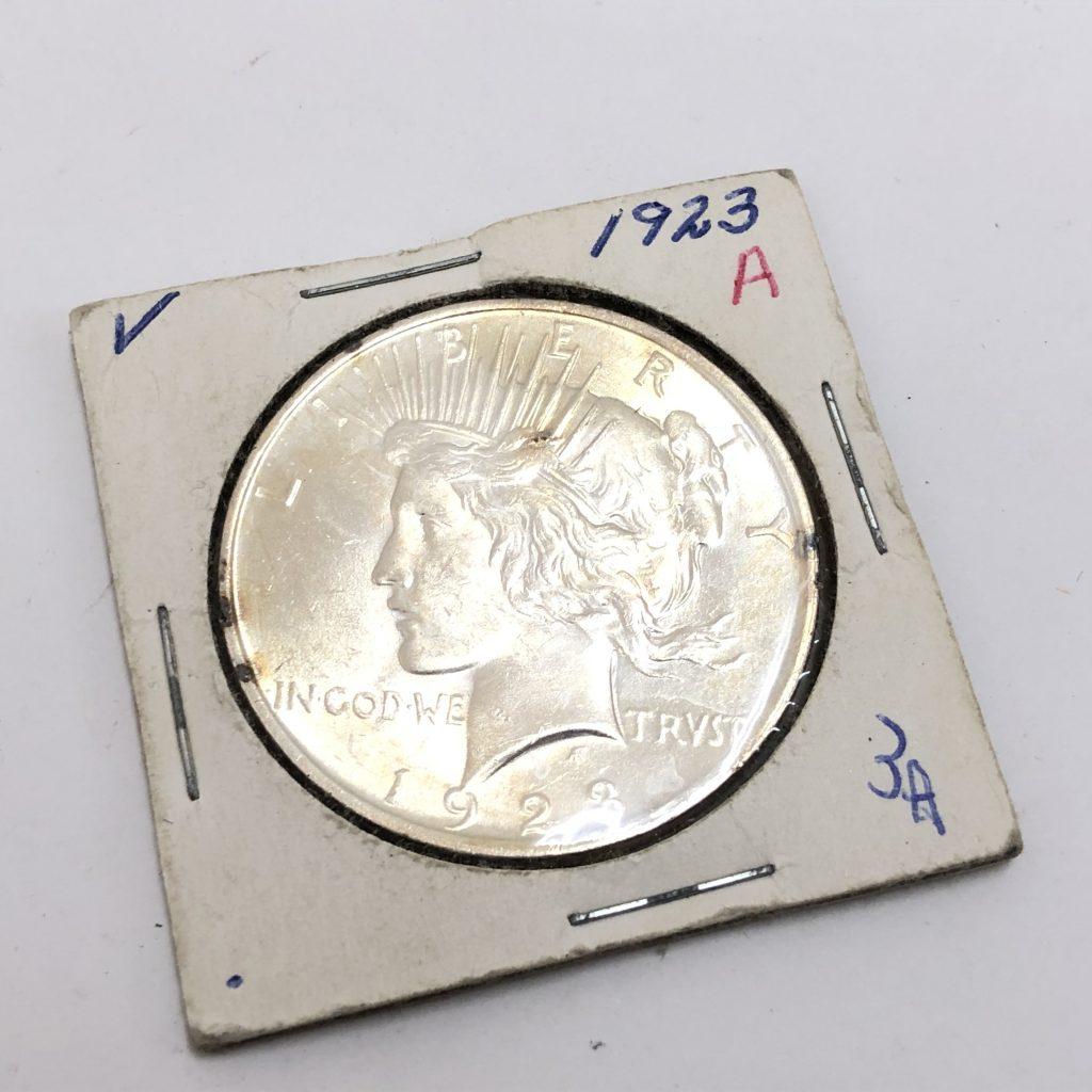 外国コイン 1923年 1ドル銀貨