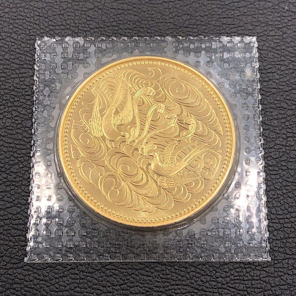 天皇陛下御在位六十年記念金貨