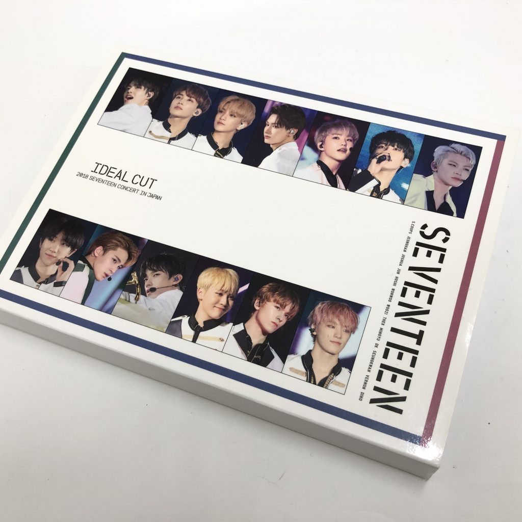 2018 SEVENTEEN CONCERT 'IDEAL CUT' IN JAPAN DVD