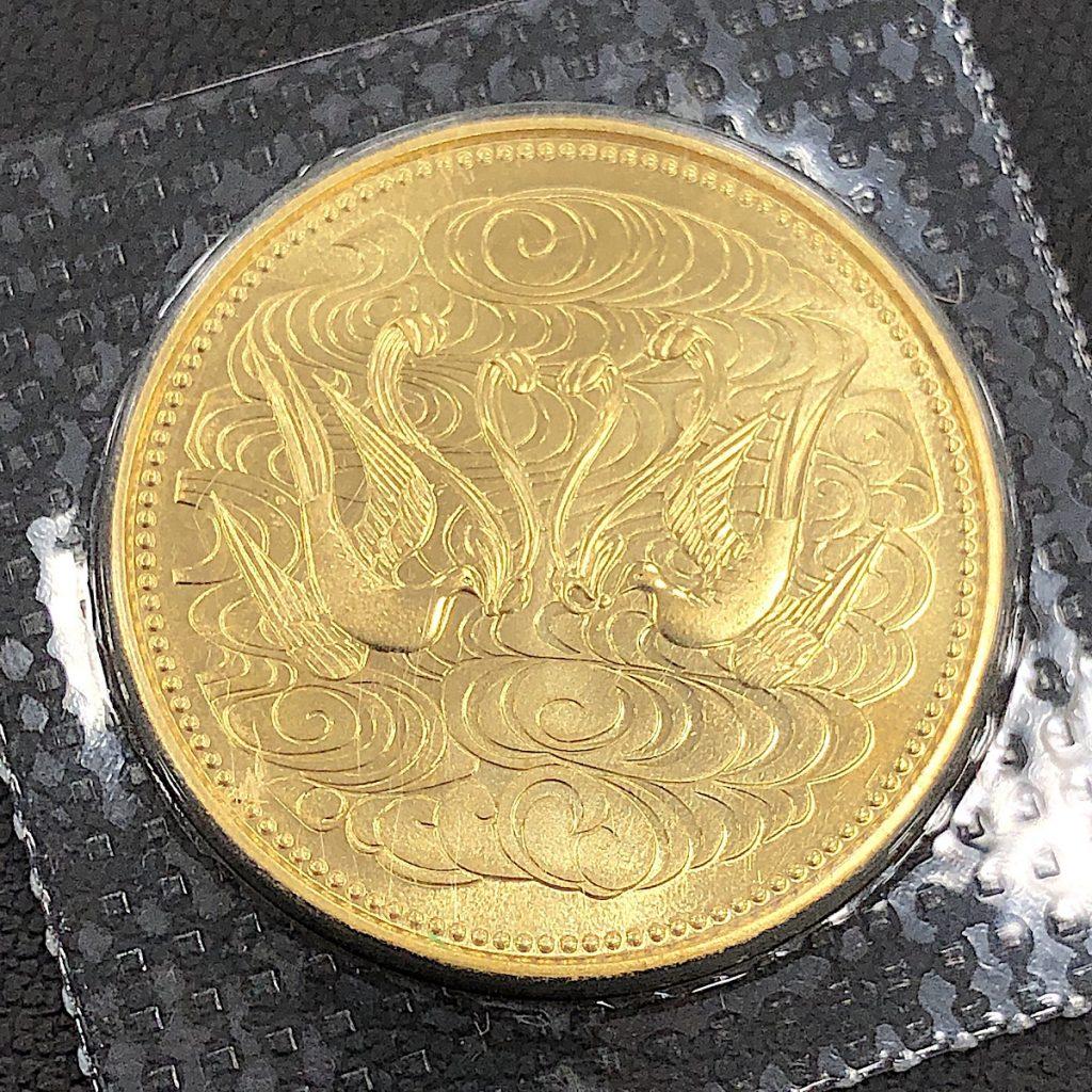 天皇陛下御在位六十年10万円金貨