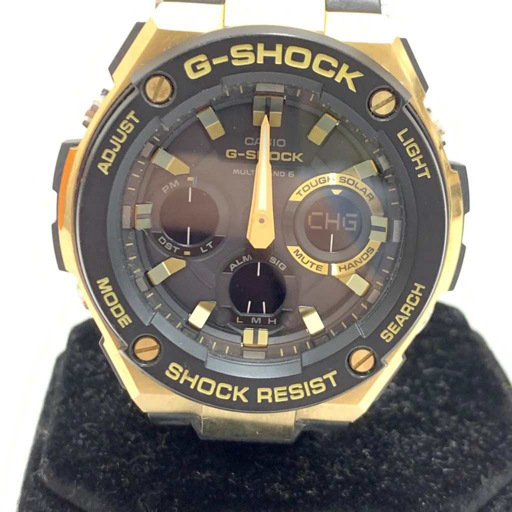 G-SHOCK GST-W100G 腕時計