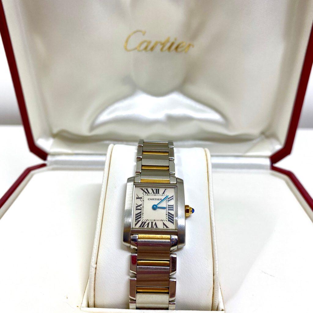 カルティエ タンク 2384 腕時計