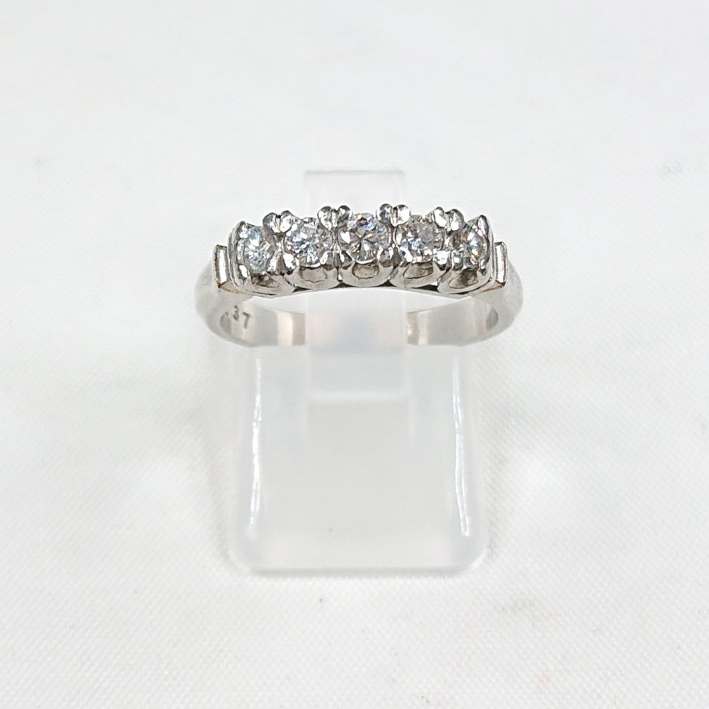 Pt900 ダイヤモンド(0.37ct)付リング