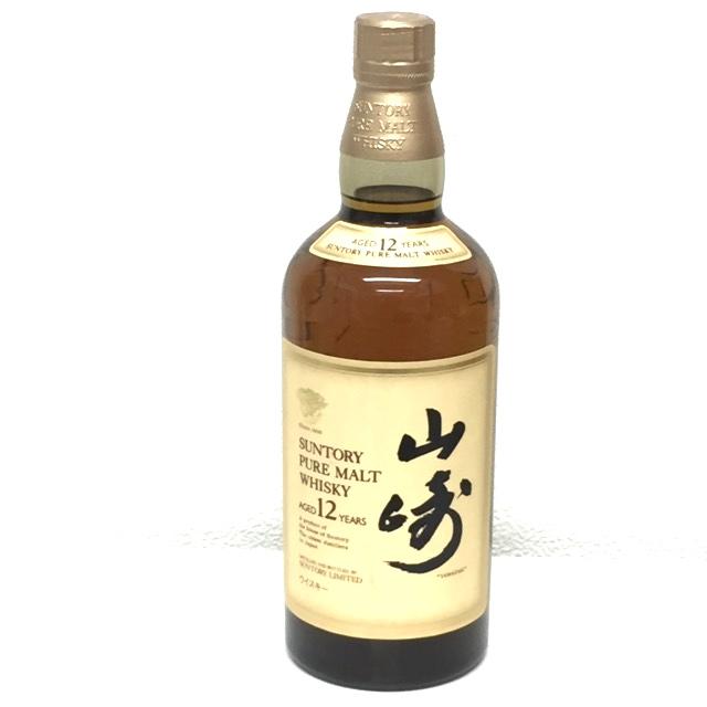 山崎ピュアモルトウイスキー12年