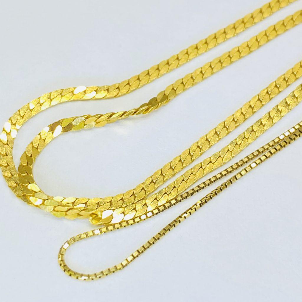 金ネックレス