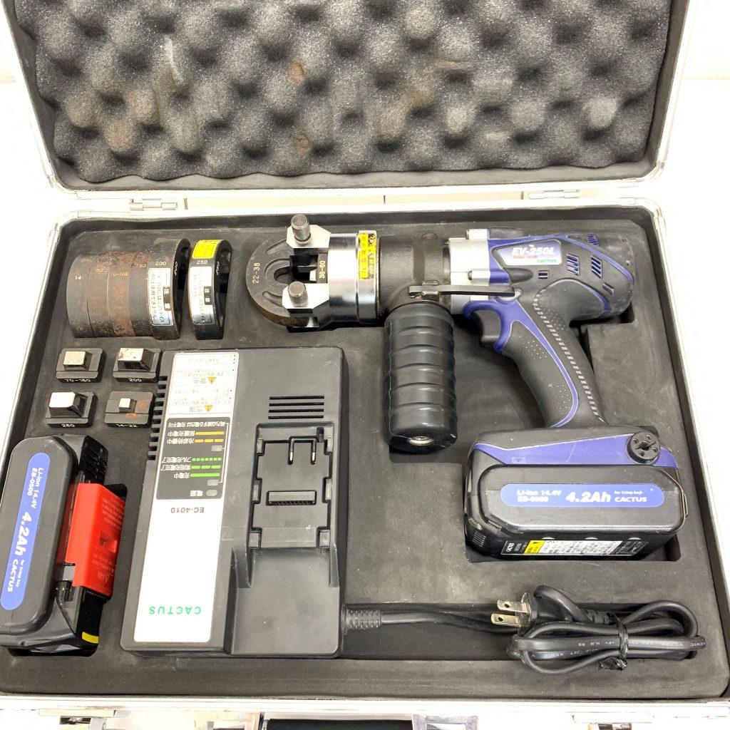 カクタス 電動油圧式圧着工具 EV-250L