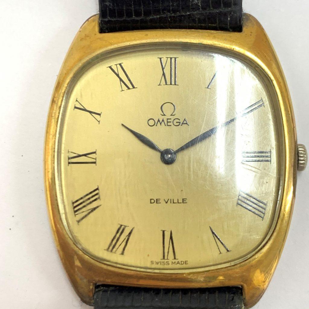 オメガ デビル 手巻き メンズ 腕時計