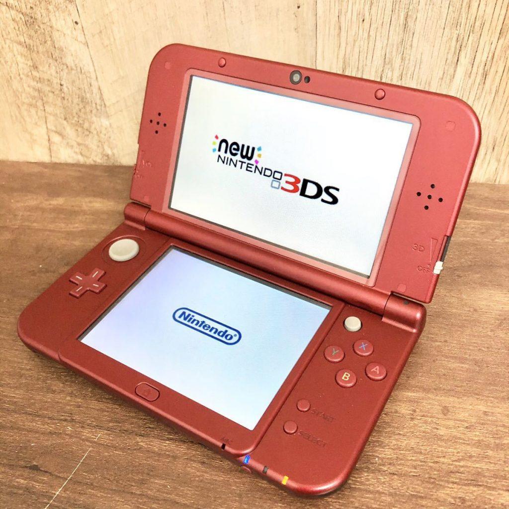 Nintendo New 3DS LL メタリックレッド