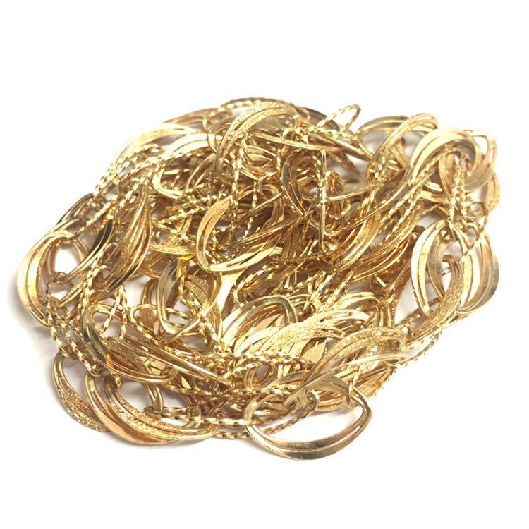 K18金のネックレス